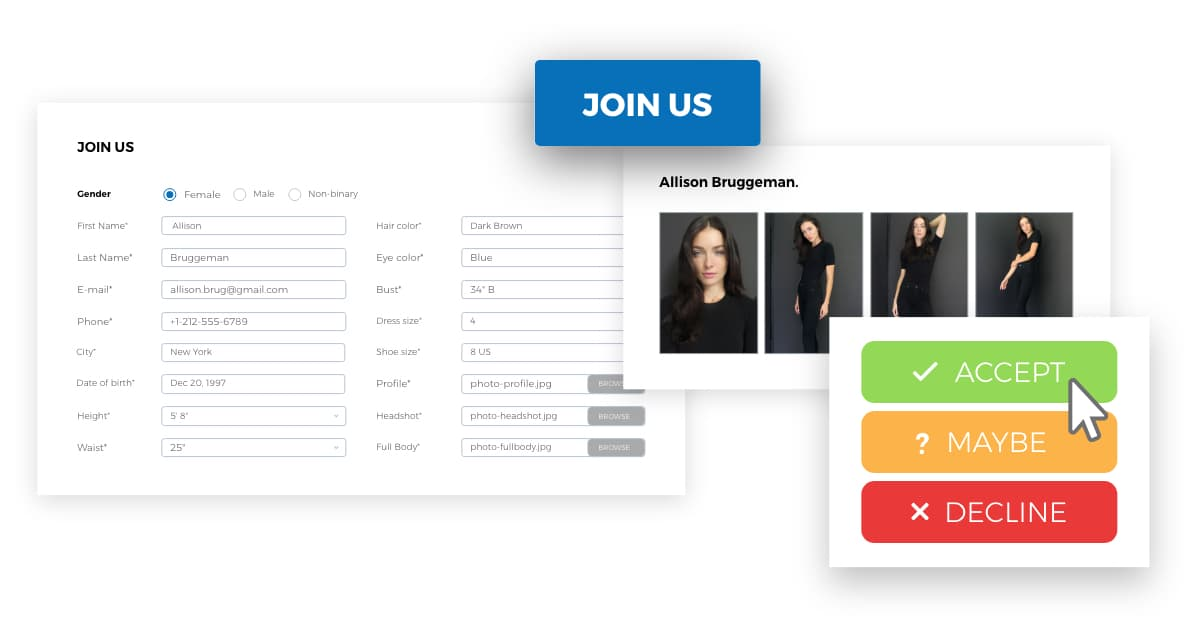 Scouting tools that allow your agency to find the perfect model or talent
